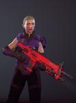 3d crossover gun petrosyanengeniy rose_lalonde solo xcom