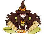 feferi_peixes halloweenstuck no_glasses partyroxy sitting solo
