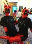 cosplay crossover deadpool karkat_vantas marvel real_life terezi_pyrope this_is_stupid wut