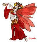 aradia_megido barefoot fashion formal jewelry roachpatrol solo wings_only