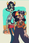 70sstuck aradia_megido corpse_party fashion gilly-e glasses_added kanaya_maryam shipping