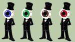 au crossover image_manipulation ke$hastuck pixel sega-mega-drive sprite_mode the_residents
