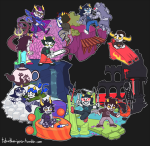 ahab's_crosshairs alternians aradia_megido aradiabot blood chainsaw clawsickle deuce_clubs equius_zahhak eridan_ampora feferi_peixes gamzee_makara horrorterrors jack_noir kanaya_maryam karkat_vantas knife land_of_brains_and_fire land_of_caves_and_silence land_of_little_cubes_and_tea land_of_maps_and_treasure land_of_pulse_and_haze land_of_tents_and_mirth land_of_thought_and_flow nepeta_leijon psidon's_entente rocket_car sollux_captor sopor_pie spades_slick spear_cane strife tavros_nitram terezi_pyrope tetratheripper vriska_serket