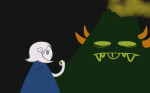 crossover lord_of_the_rings paradoxjelli ring_of_life roxy_lalonde sollux_captor tolkien