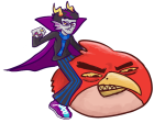 angry_birds crossover eridan_ampora eridanhitler solo