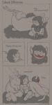 blush comic cu-pear cuspidated_grimalkin hiveswap joey_claire lusus shipping star_crossed_romance text xefros_tritoh