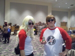 apple_juice bonzoisawesome cosplay dave_strider real_life red_baseball_tee rule63