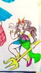 aranea_serket artcreepycreampuff blush cuttlefish dancestors feferi_peixes head_out_of_frame no_glasses psidon's_entente