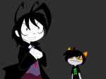 au blush deleted_source fandomstuck invader_zim sprite_mode