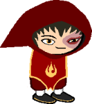 avatar_the_last_airbender crossover fanaspect godtier maid punstuck rufiozuko solo sprite_mode transparent