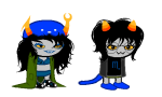 cat_hat clothingswap glasses_added glassesswap lovelylilkitten nepeta_leijon no_glasses no_hat schrödinger shipping sleepystuck sprite_mode vriska_serket