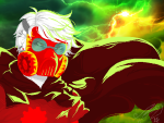 clouds dave_strider fanfic_art godtier knight land_of_tombs_and_krypton mask melanievimpula nsfwsource pixel solo time_aspect