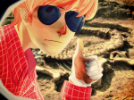 dave_strider freckles headshot solo theicarustheory thumbs_up