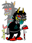 allthericeinchina dancestors dragon_cane dream_ghost latula_pyrope pyropes skateboard terezi_pyrope transparent