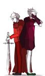 bashfulwitch blood caledfwlch dave_strider decapitation dirk_strider godtier heart_aspect knight prince sadstuck time_aspect