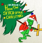 dr_seuss felt holidaystuck how_the_grinch_stole_christmas parody scribblestuck-tata solo stitch