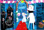 andrew_hussie blush cd clubs_deuce crying dd diamonds_droog flowers goggles hb head_out_of_frame heart hearts_boxcars holding_hands image_manipulation jack_noir midnight_crew ms_paint paint_it_black redrom salihombox shipping spades_slick thought_balloon
