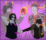 crossover dancestors dream_ghost equius_zahhak fiduspawn horuss_zahhak lacertae-dreamscape nitrams rufioh_nitram tavros_nitram yu-gi-oh zahhaks zodiac_symbol