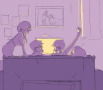 back_angle beta_kids couch dave_strider disteal jade_harley john_egbert limited_palette rose_lalonde sleeping