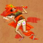 dragon_cape faygo hanna-cepeda panel_redraw pyralspite scalemate_boxers scalemates sketch solo terezi_pyrope