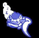 gcatavrosprite sleeping solo sprite tav-quius transparent