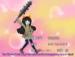 amisia_erdehn animestuck blood bludgeoning_angel_dokuro-chan hiveswap image_manipulation parody solo