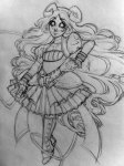 alienfirst aradia_megido fashion magicastuck_(au) sketch solo whip wip