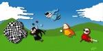 battlefield beta_kids breath_aspect crossover dave_strider dogtier godtier heir jade_harley john_egbert katamari knight land_of_frost_and_frogs land_of_heat_and_clockwork land_of_light_and_rain land_of_wind_and_shade light_aspect planets rose_lalonde royal_deringer seer space_aspect time_aspect tnjb witch