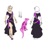 animals au character_sheet rose_lalonde scalestuck solo thorns_of_oglogoth wolfpainters