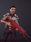 3d crossover gun jane_crocker petrosyanengeniy solo xcom