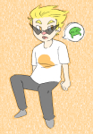 humanized kid_symbol kindergraph lil_hal solo starter_outfit word_balloon