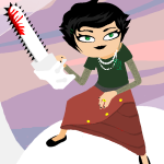 bilbo-swwaggins blood chainsaw humanized image_manipulation kanaya_maryam virgin_mother_grub