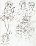 art_dump eridan_ampora godtier headshot karkat_vantas light_aspect sailor_moon sketch sollux_captor text thief twirynienne vriska_serket