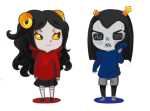 aradia_megido aspect_hoodie blush equius_zahhak iron_maiden pantsugar shipping sweat time_aspect void_aspect