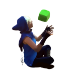 acornbunny godtier no_mask perfectly_generic_object rogue roxy_lalonde sitting solo transparent void_aspect