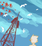 dirk_strider imperial_drone low_angle myaverageartblog panel_redraw seagulls