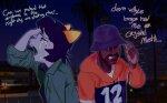 city crossover crying general_proton grand_theft_auto lyricstuck meme nepeta_leijon no_hat text twitter