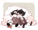 food hiveswap joey_claire jude_harley siblings:joeyjude sleeping soupery tesseract
