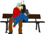 crossover kiss knight-beast-x redrom shipping sitting south_park vriska_serket