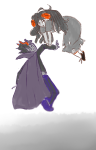 0dalesque aradia_megido carrying dead_aradia eridan_ampora ghost_ship midair shipping