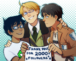 attack_on_titan crossover hetalia john_egbert punpunichu starter_outfit thank_you
