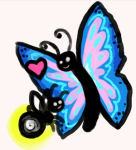 akrona butterfly heart redrom serenity shipping