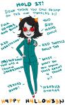 ace_attorney crossover halloweenstuck solo souperduper suit terezi_pyrope