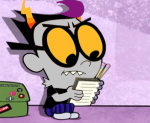 1s_th1s_you crossover eridan_ampora image_manipulation solo source_needed the_grim_adventures_of_billy_and_mandy
