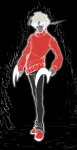 admantist dancestors grimdark kankri_vantas non_canon_design sickle solo unknown_weapon weapon