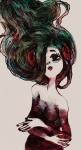 aradia_megido highlight_color littlebirdkisses solo watercolor