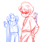 avatar_the_last_airbender clothingswap crossover dave_strider fire-cycle godtier knight rose_lalonde