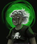 black_squiddle_dress crying green_sun grimdark margarethours rose_lalonde solo