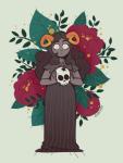 aradia_megido dead_aradia ojaiyart skulls solo starter_outfit