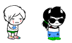 blood clothingswap dave_strider glassesswap jade_harley lovelylilkitten no_glasses shipping sleepystuck spacetime sprite_mode undergarments